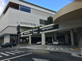 Famous Ala Moana shopping mall has been developing with more stores like bloomingdales from New York and Foodland super market